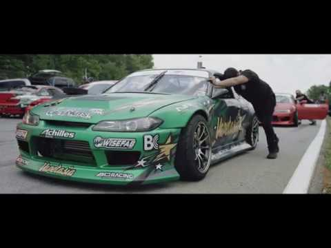 David's first Formula Drift event, borrowing Forrest Wang's S14