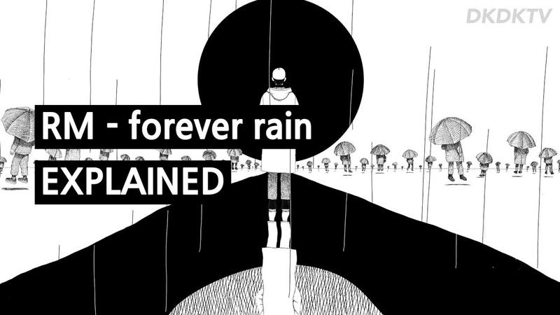 RM - forever rain explained by a korean
