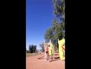 Утренняя тренировка в парке