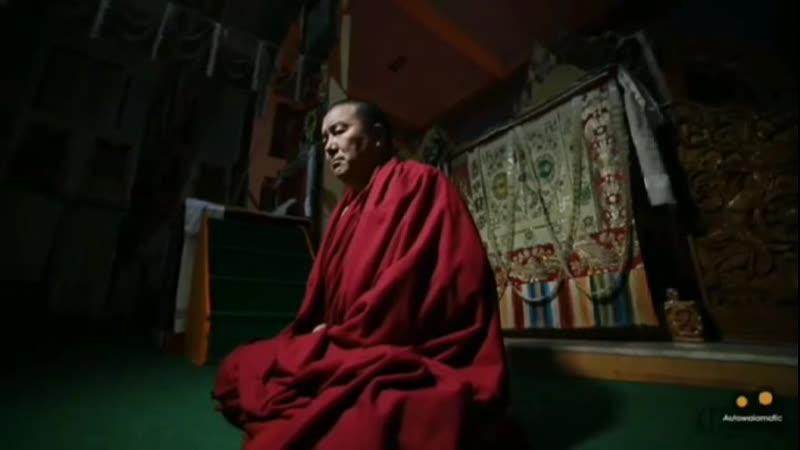 Нгаванг Лама Таши Бапу. Мастер обертонального пения гюке и дзоке. Буддизм. Тибет.