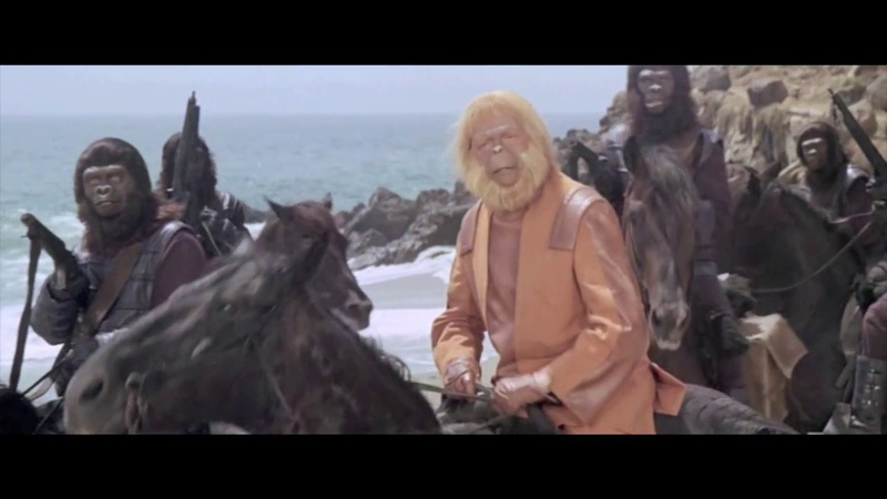 Киноляпы Планета обезьян (1968)
