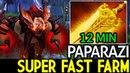 Paparazi Bloodseeker Super Fast Farming 12 Min Radiance 7 16 Dota 2