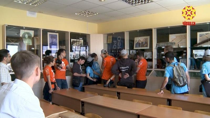 В Чебоксары прибыли участники проекта межнационального согласия «Маяки дружбы. Россия сближает»