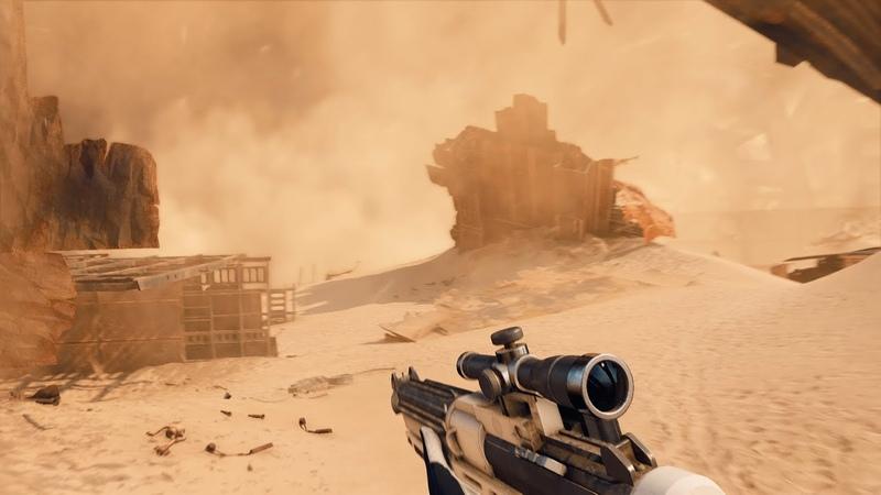 Jakku Sandstorm Weather Variant Star Wars Battlefront II Mod