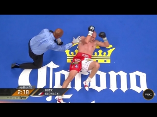 Кшиштоф Гловацки - Марко Хук / Glowacki vs Huck Highlights