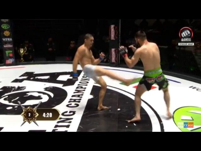 WFCA 38 Felipe «SAIYAJIN» Froes vs. Хункар-Паша Осмаев