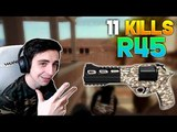 PUBG shroud - 11 KILLS With R45 King Of Hacienda