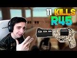 PUBG shroud - 11 KILLS With R45 King Of Hacienda