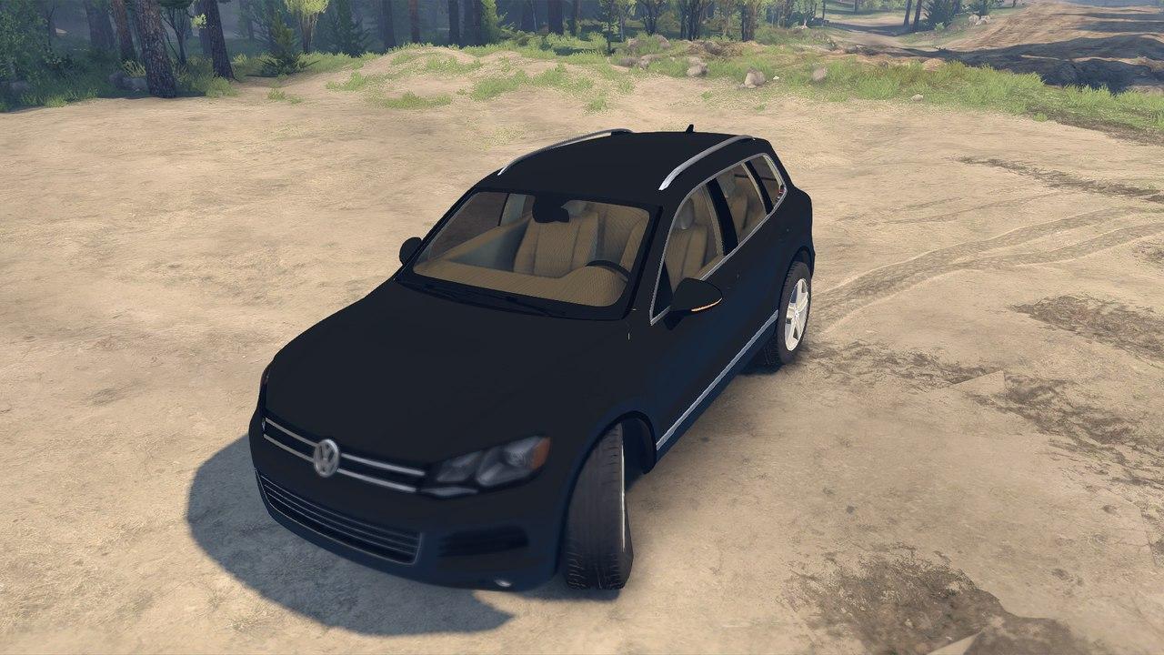 Volksvagen Touareg для Spintires - Скриншот 2
