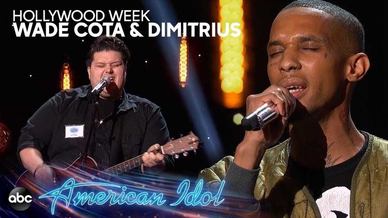 Wade Cota Sings X Ambassadors Dimitrius Graham Sing Bette Midler at Hollywood Week - American Idol