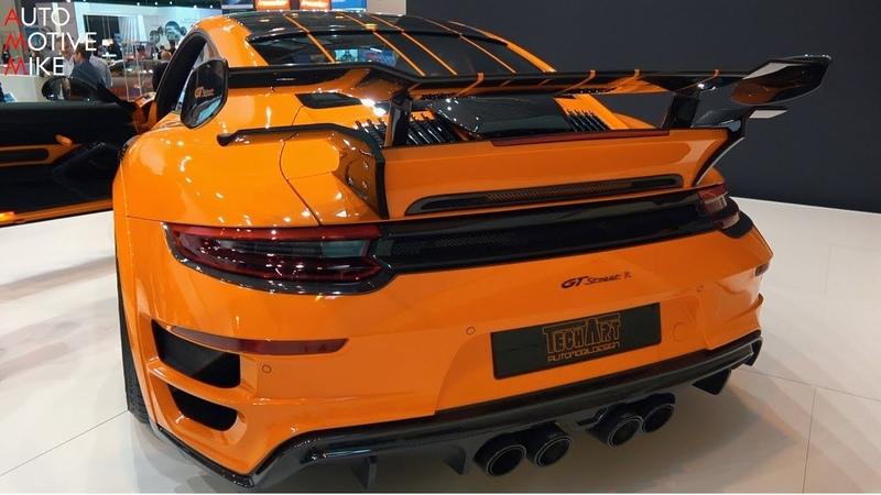 720HP TECHART GTSTREET R (Porsche 991 Turbo S ) - ESSEN MOTORSHOW