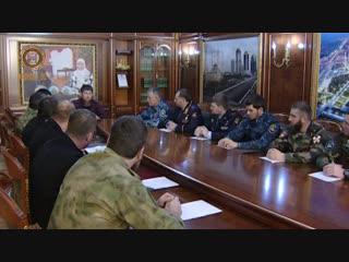 Обсудили вопросы обеспечения безопасности и правопорядка в период новогодних мероприятий.