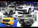 TOP new Subaru SUVs Subaru Forester VS Subaru XV crosstrek STI All new 2016 2017 model concept