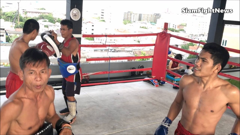 Видеообзор БУЛАТ (РОССИЯ) Muay Thai Teded99 gym, Bangkok.