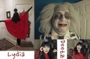 Lydia Deetz (cartoon) Make Up and Costume Tutorial! Plus Beetlejuice!!