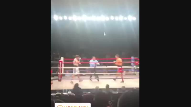 Мейирим Нурсултанов vs Рамон Агинага (нокаут) [11.01.2019]
