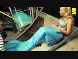 25-летняя студентка работает русалкой в парижском аквариуме и дарит посетителям сказку