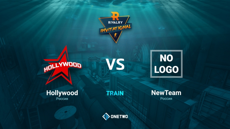 Rivalry CIS Invitational   HOLLYWOOD vs NewTeam   BO3   de_train by Afor1zm