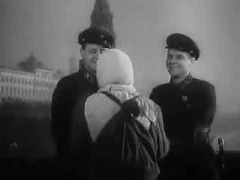 На грозную битву вставайте из к/ф «В 6 часов вечера после войны», 1944 год