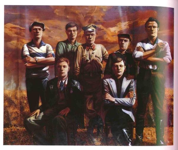Еще раз о войне... Сергей Шерстюк. Мужчины одной семьи. 1941 год. Сергей Шерстюк. Мужчины одной семьи. 1945 год.
