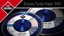 Диск алмазный для твёрдых материалов TURBO VIPER TVH RUBI для мокрой резки