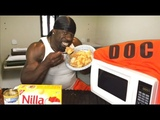 APPLE CAKE (4,000 Calories) - Cooking with Kali Muscle