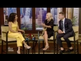 Live with Kelly and Ryan July 16, 2018 J.K. SIMMONS and LIZA KOSHY