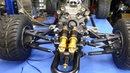 1/3 scale fuel injected 125cc v10 RC buggy, part 2
