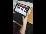 Живые карточки Пианино