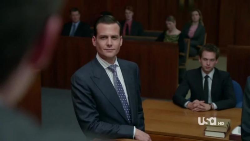 Suits 01x02 Harveys at trial