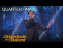 Daniel Emmet: Singer Performs I Don't Want To Miss A Thing In Spanish - America's Got Talent 2018