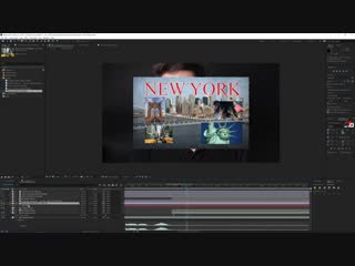 Travel Video Postcard Transition in After Effects