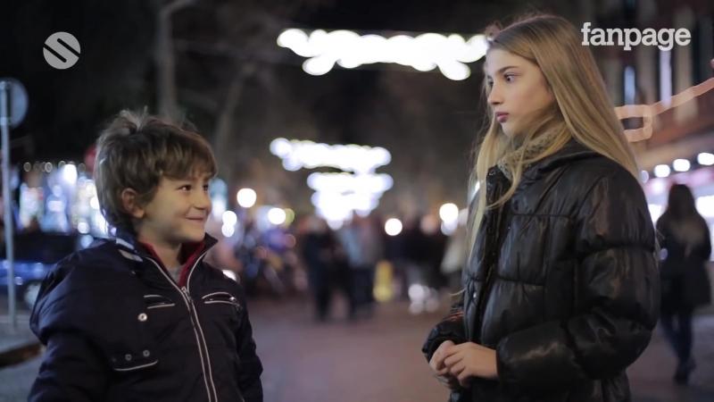 Slap her: children's reaction / Ударь её: реакция детей [2015, Италия] Русские субтитры