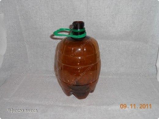 Бочонок для меда своими руками из пластиковой бутылки 95