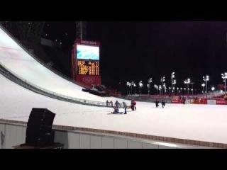 kamil stoch crash Sochi