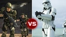 UNSC Marine Squad vs Imperial Stormtrooper Squad - Who Would Win Halo vs Star Wars