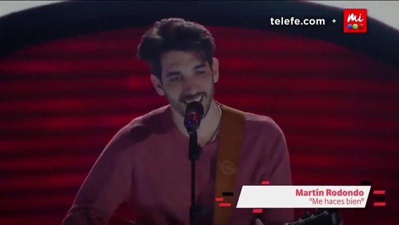"""La Voz Argentina on Instagram: """"ALERTA DE HIT ⚠ Martín Redondo cantó una de las canciones más conocidas de Jorge Drexler: Me haces bien 😍 ¿Quedar..."""