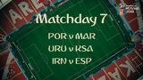 Who's ready for Matchday 7 at the FIFA World Cup