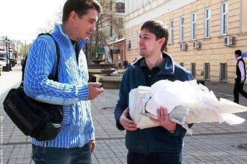 Евгений Михеев и Александр Беляк. Фото Виталий Койрах