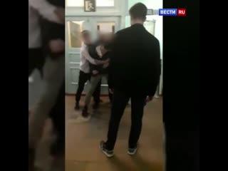 Пьяный хулиган устроил драку со своим бывшим учителем