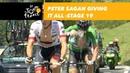 Peter Sagan giving it all - Stage 19 - Tour de France 2018