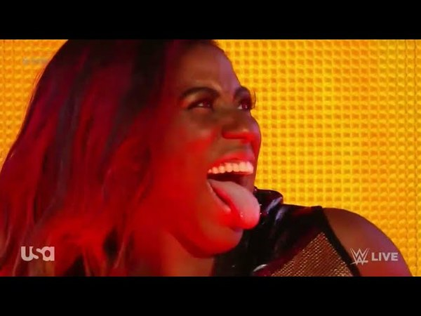 Ember Moon Debut Entrance On RAW - RAW After Mania April 9. 2018 (HD)