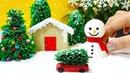 DIY MINIATURE WINTER WONDERLAND ZEN GARDEN   CHRISTMAS DECORATIONS GIFTS