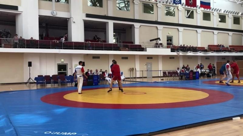 Чемпионат Москвы по самбо 15 09 2018 1ая встреча