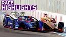 Melee In Morocco | Race Highlights - 2019 Marrakesh E-Prix | ABB FIA Formula E Championship