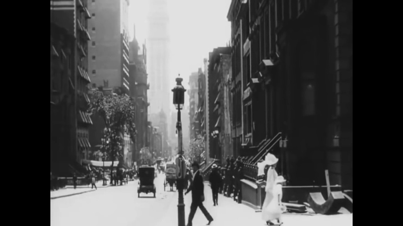 A rare video of New York 107 years ago