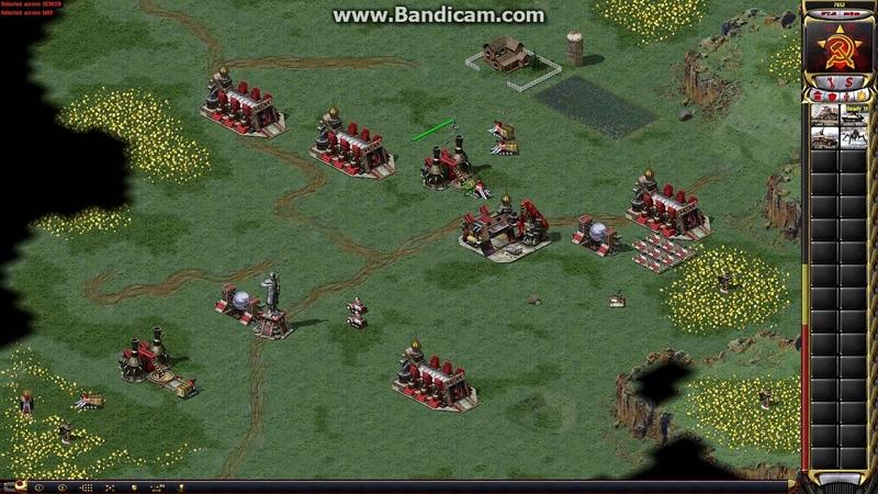 Red Alert 2 - Match 134 Redkitt[TR] vs Piners (Lucifer, -L-, Frank) Map Tour of Egypt