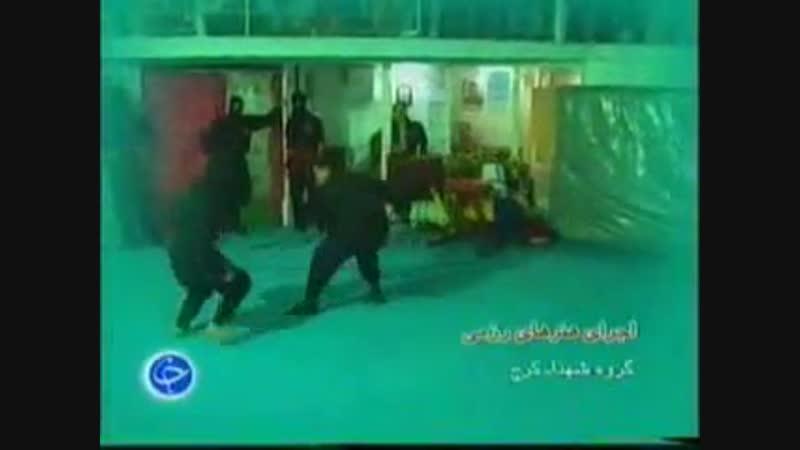 Бойцы Ирана Ниндзюцу