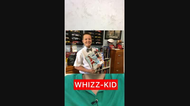 ✅whizz-kid - вундеркинд, American English - whiz-kid