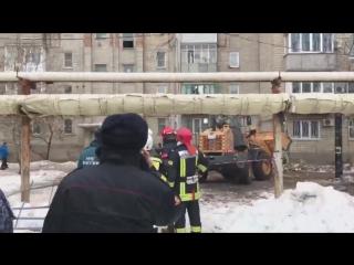Взрыв в жилом доме в городе Шахты